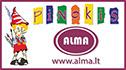 Pinokis, parduotuvė, UAB ''Alma'', UAB