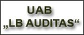 LB auditas, UAB