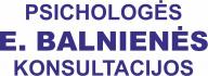 E. Balnienės psichologinė pagalba
