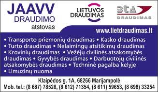 JAAVV, UAB - Info lt