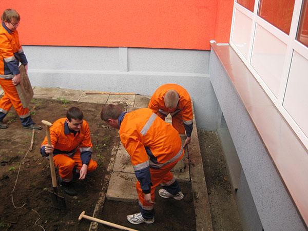 Marijampolės profesinio rengimo centras, Paslaugų ir Statybos ir mechanikos skyrius