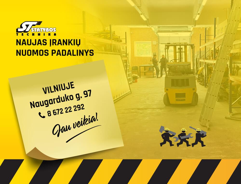 Statybos technika, Vilniaus padalinys, UAB