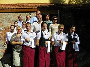 Šilutės turizmo ir paslaugų verslo mokykla, mokomasis viešbutis