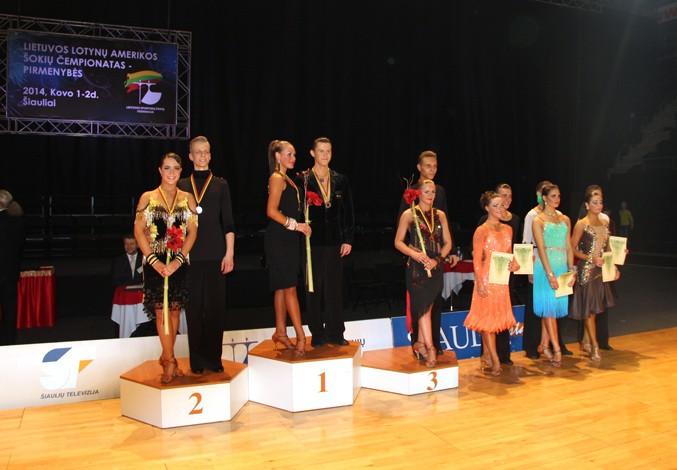 Siluetas, Vilniaus miesto sportinių šokių klubas