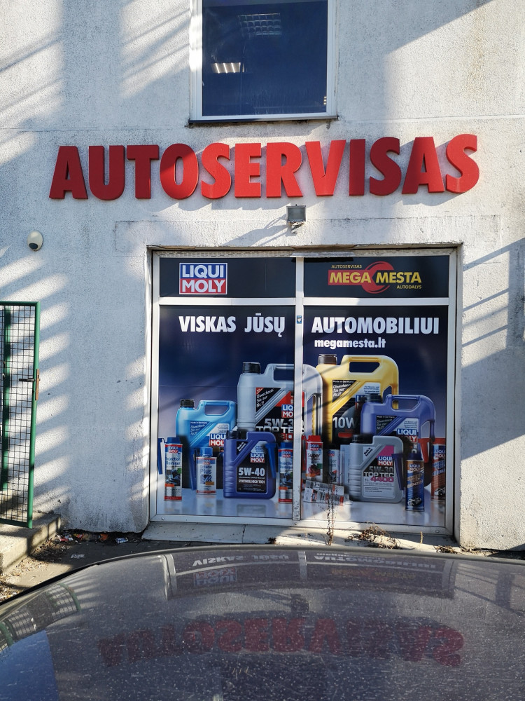 Autoservisas Megamesta, filialas, UAB