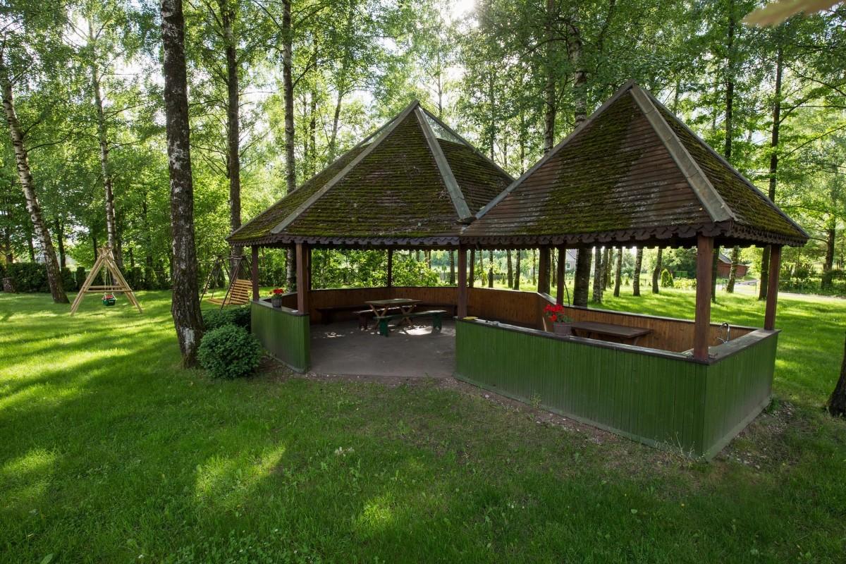 Jocų sodyba, camping Gražina