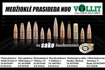 Vollit, ginklų ir medžioklės reikmenų parduotuvė Kaune, UAB