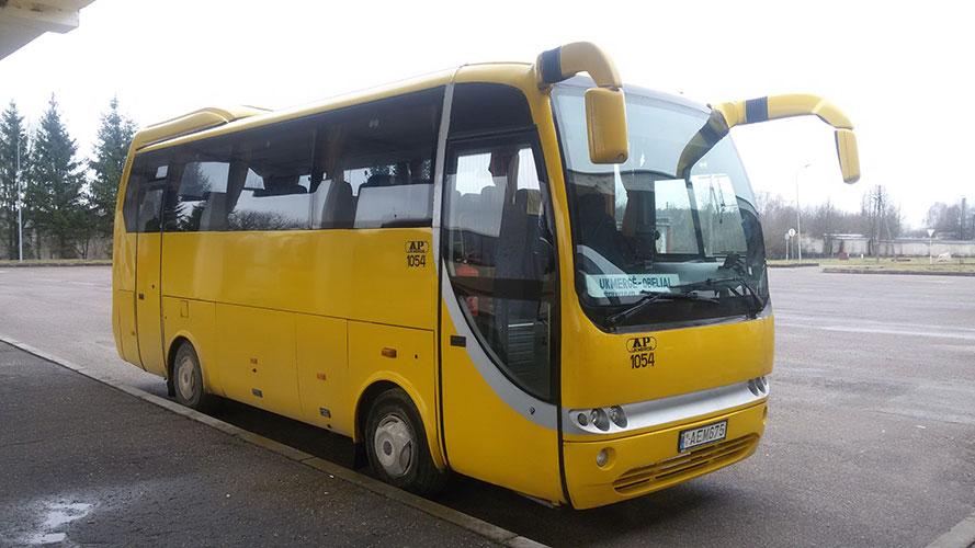 Ukmergės autobusų parkas, UAB