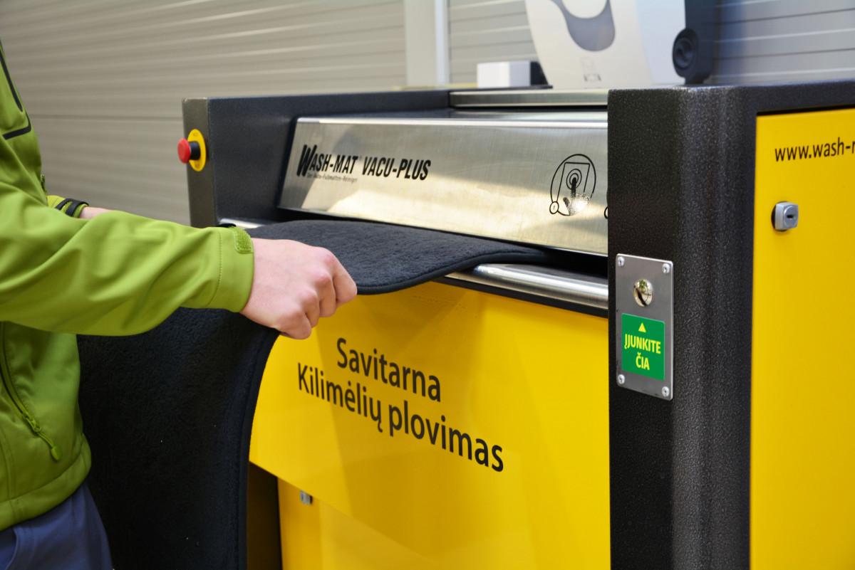 Ainava, UAB, Valymo paslaugos verslui, Automobilių švaros centras