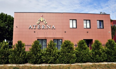 Aterna, laidojimo paslaugų biuras, šarvojimo salė, UAB