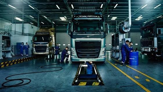 """Volvo Trucks, sunkvežimių centras, UAB """"Volvo Lietuva"""", Klaipėdos padalinys"""