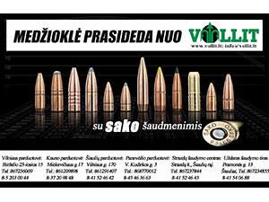 Vollit, ginklų ir medžioklės reikmenų parduotuvė Šiauliuose, UAB