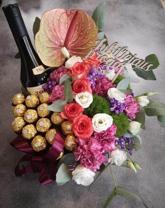 R. Zykaus TŪB, gėlių salonas