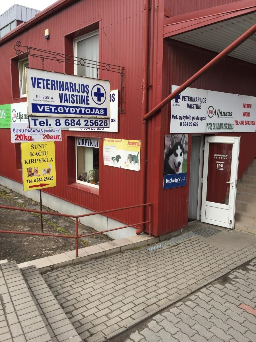 L. Atkočaičio veterinarijos vaistinė, gydykla, gyvūnų kirpykla