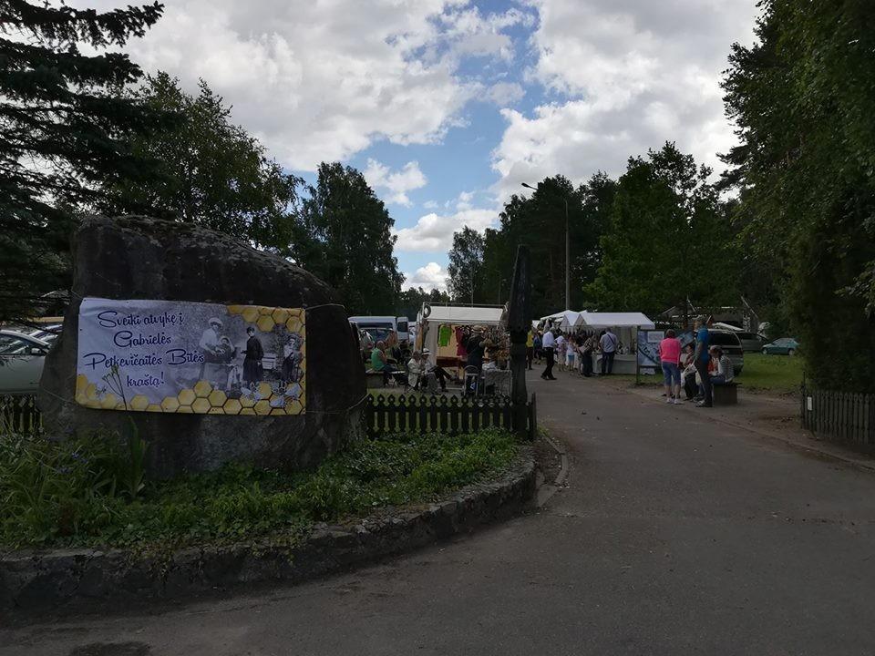 Vaikystės šilelis, stovykla