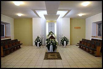Liūdinta, D. Šeško laidojimo paslaugų firma