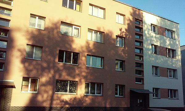 """Pastatų apdaila, AB """"Panevėžio statybos trestas"""" filialas"""
