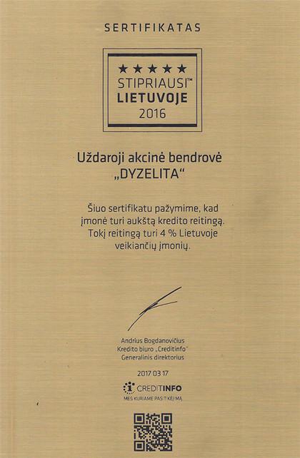 Dyzelita, UAB