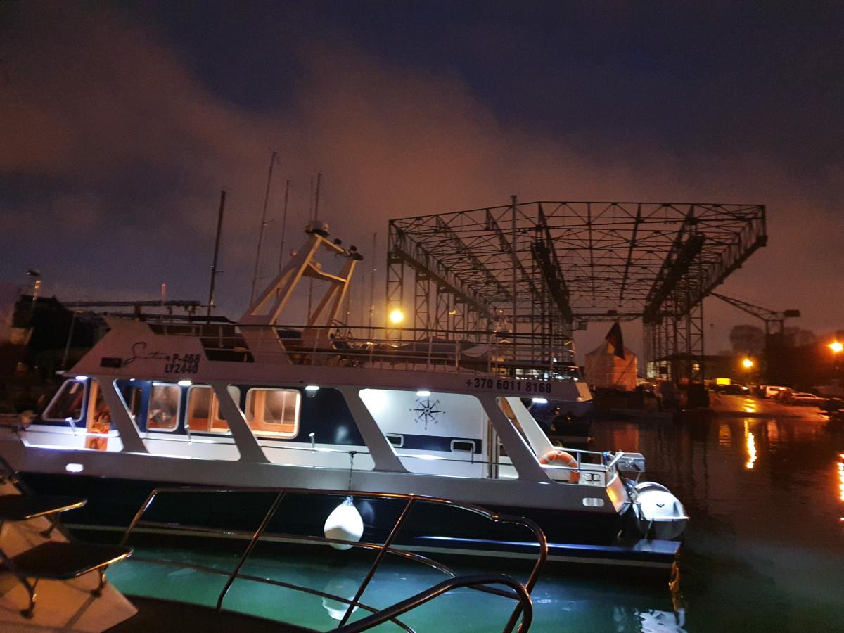 Jovila, visos pramogos laivais