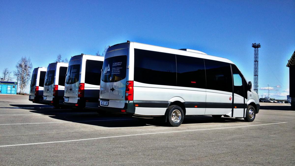 Marijampolės autobusų parkas, UAB