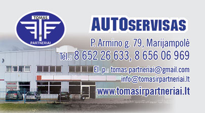 Tomas ir partneriai, lengvųjų automobilių ir mikroautobusų servisas, UAB