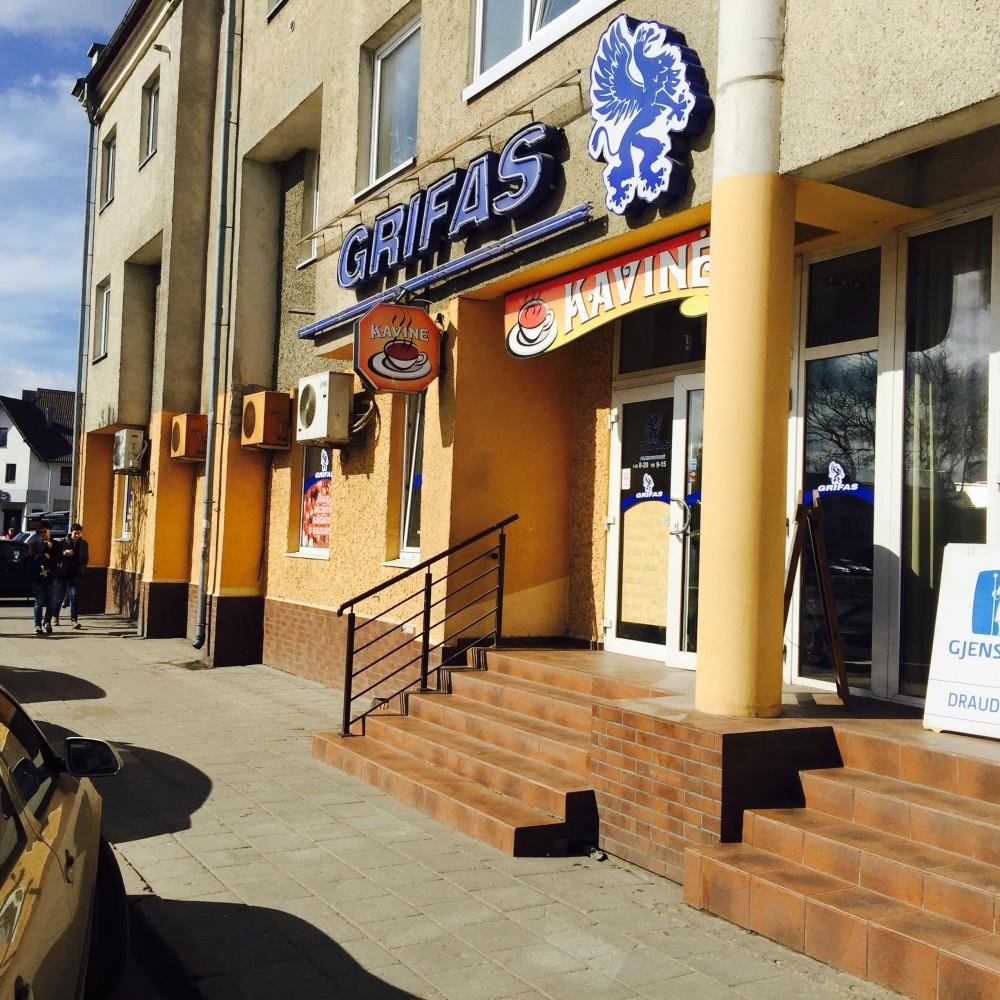 Grifas, parduotuvė-kavinė