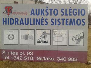 Aukšto slėgio hidraulinės sistemos, UAB