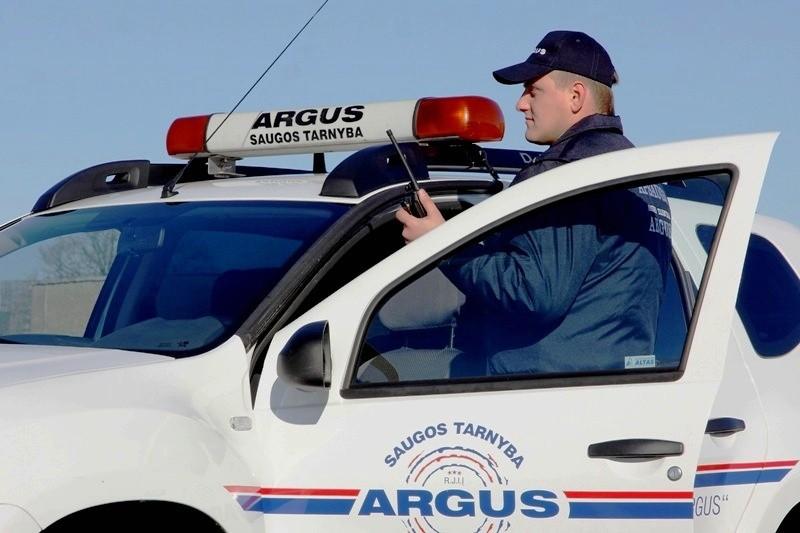 Argus, saugos tarnyba, UAB, Plungėje