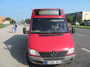 Keleivinio transporto paslaugos, V. Mėlinavičiaus IĮ