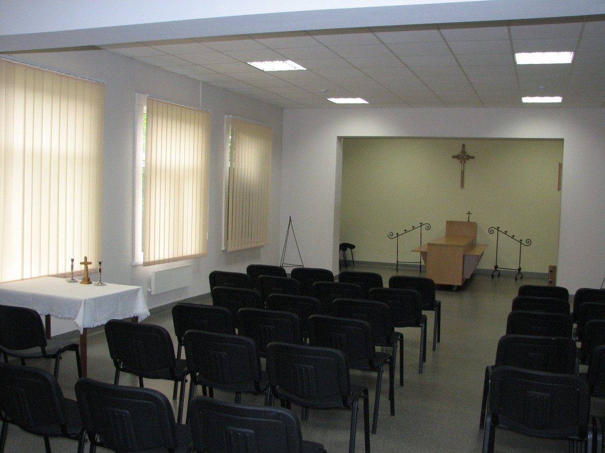 Dorovalė, laidojimo paslaugų biuras, šarvojimo salė