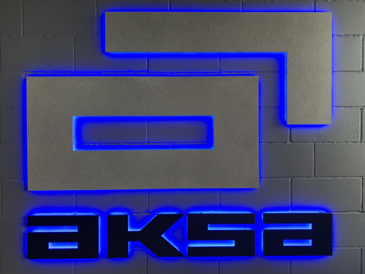 Aksa, filialas, AB
