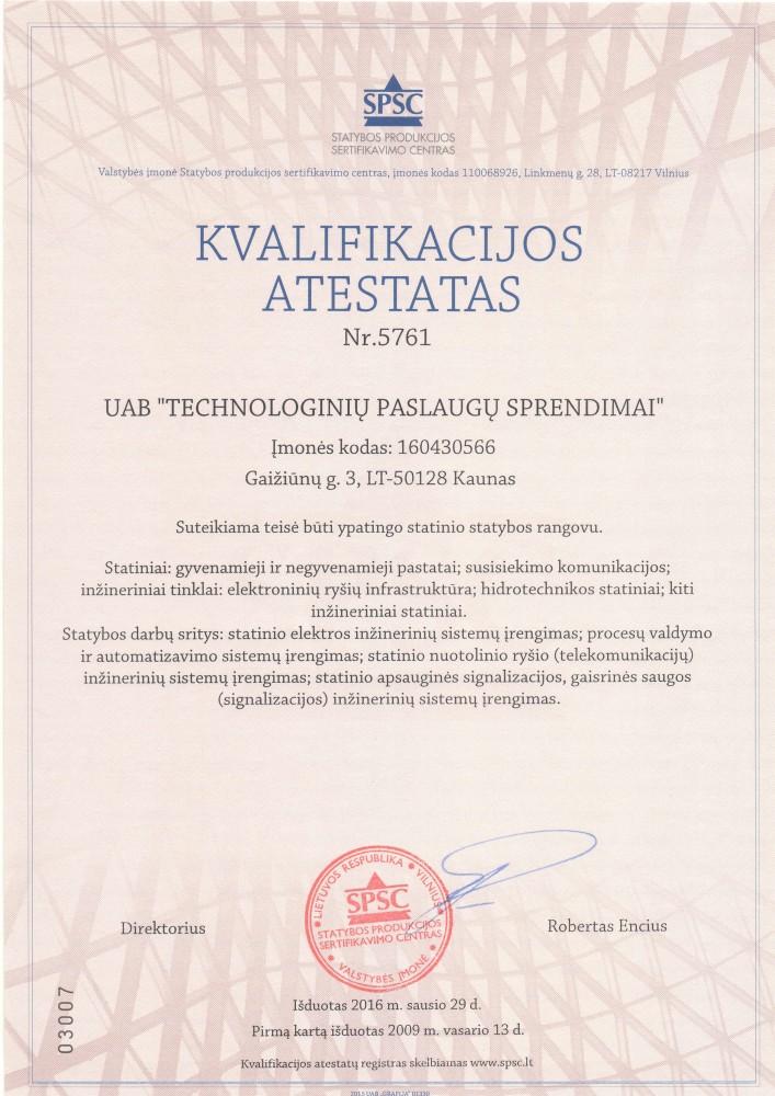 Technologinių paslaugų sprendimai, UAB