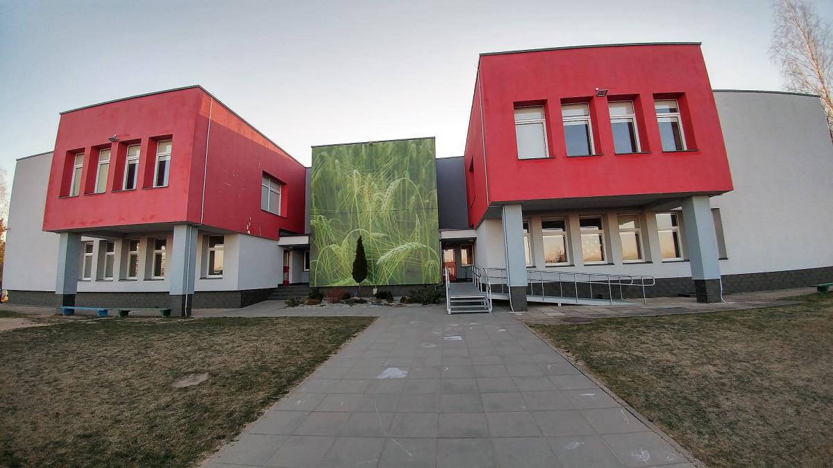Rugelis, Kaišiadorių r. Gudienos mokykla-darželis