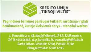 Tikroji viltis, kredito unija