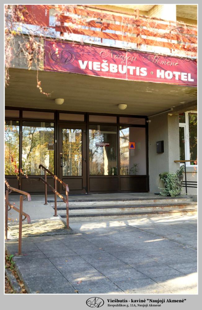 Naujoji Akmenė, viešbutis-kavinė
