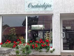 Orchidėja, L. Meškauskienės parduotuvė
