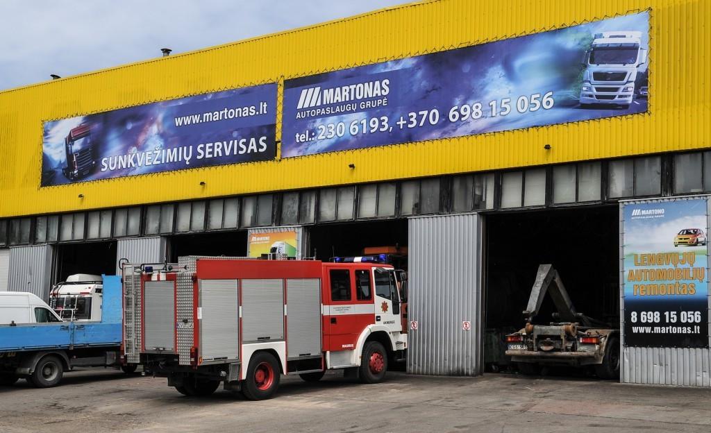 Martonas, sunkvežimių servisas, UAB