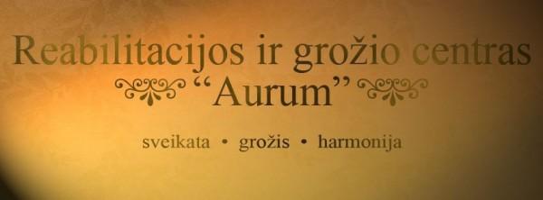 "Grožio namai ""Aurum"""