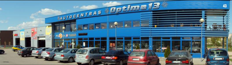 Optima 13, ratų centras, UAB