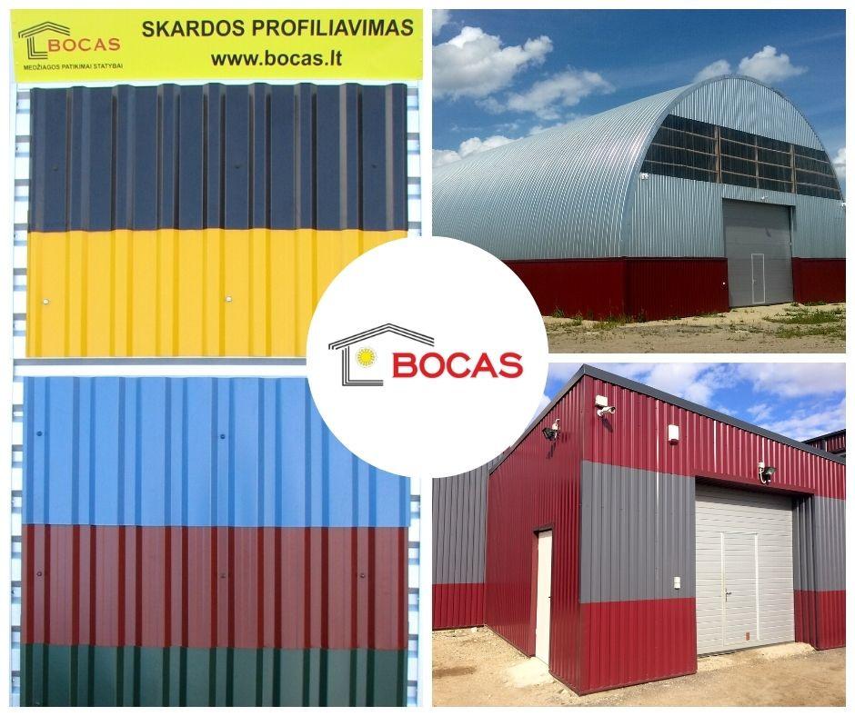 Bocas ir Ko, skardos gamybos cechas, UAB