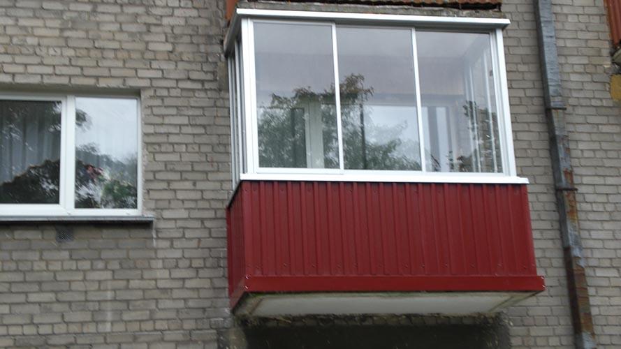 Serona, balkonai, durys, žaliuzės, UAB