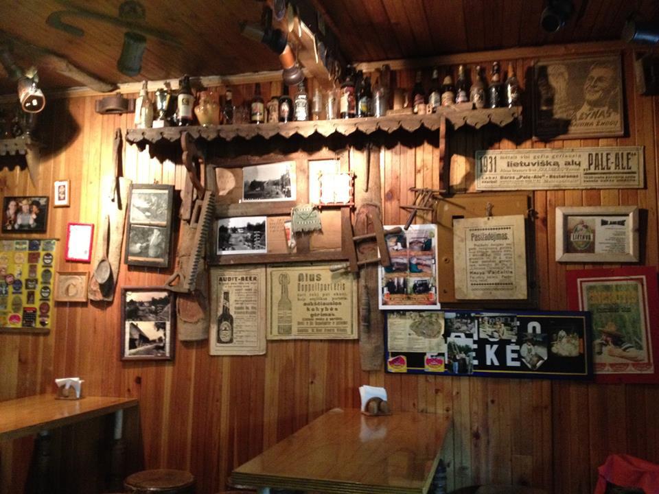 Šnekutis, tikriausio gyvo kaimiško alaus baras