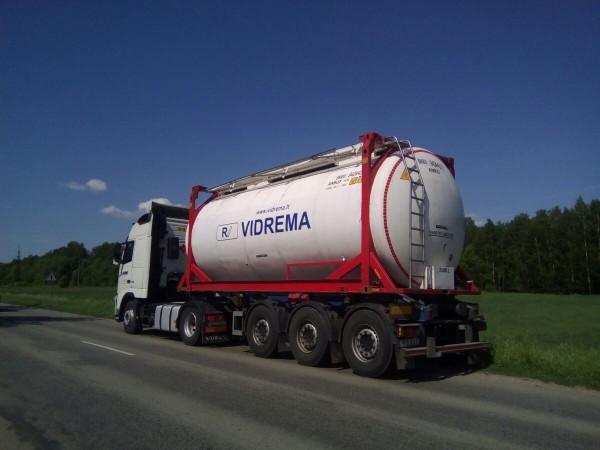 Vidrema, skystų krovinių gabenimas, UAB