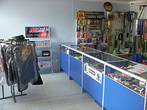 Vidlinas, autodetalių parduotuvė