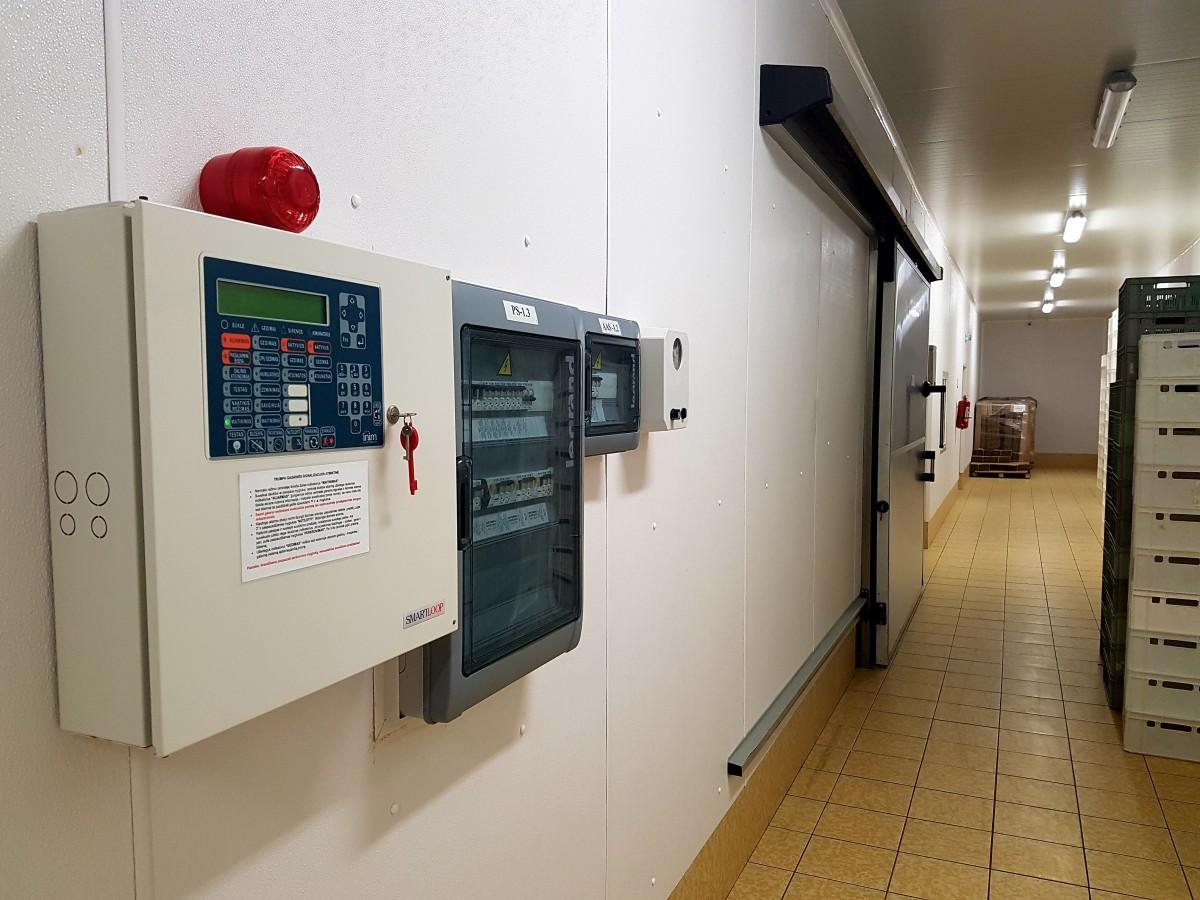 Aliarmas, Klaipėdos filialas, UAB