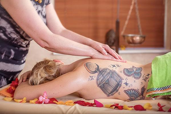 Mariči, masažo namai
