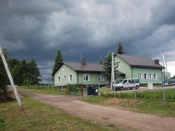 Smiltelė, senelių namai