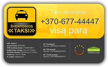 Šventosios taksi