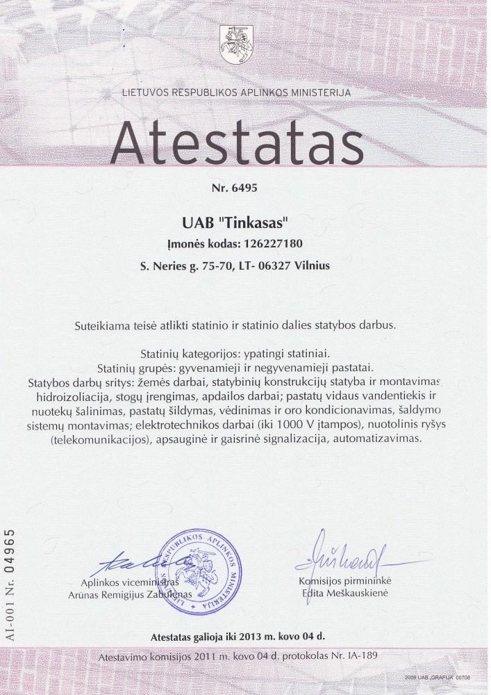 Tinkasas, UAB