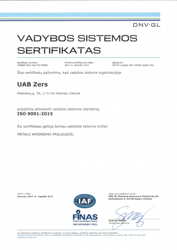 ZERS, UAB